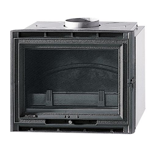 Tertio 55 - Чугунная топочная камера с прямым фасадом