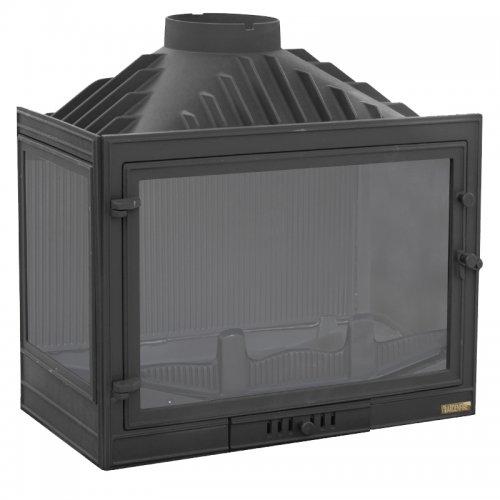 ПРОМО 715Л - Пристенно-угловая печь из чугуна