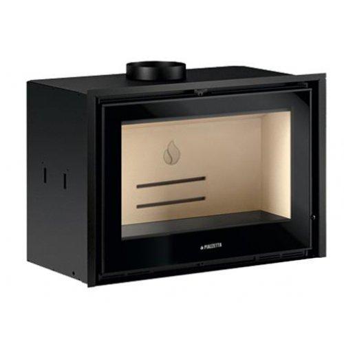 IL 75/58 современная печь с прямой стеклянной дверцей