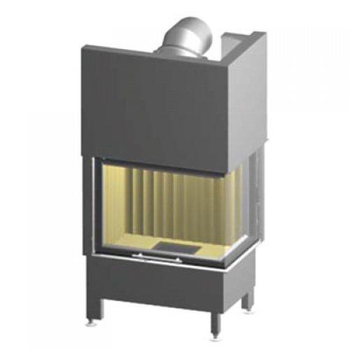 Linear 4S Varia 2RH - Дровяная топка из стали с подъемной дверкой